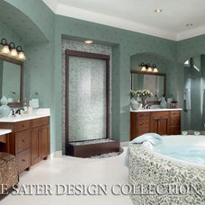 Traditional Bathroom by Sater Design Collection, Inc.