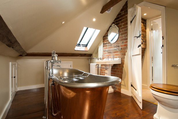 Country Bathroom by A1 Lofts as well as Extensions