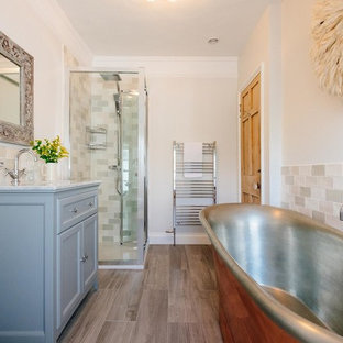 75 Most Popular Bathroom with Metro Tiles Design Ideas for ...
