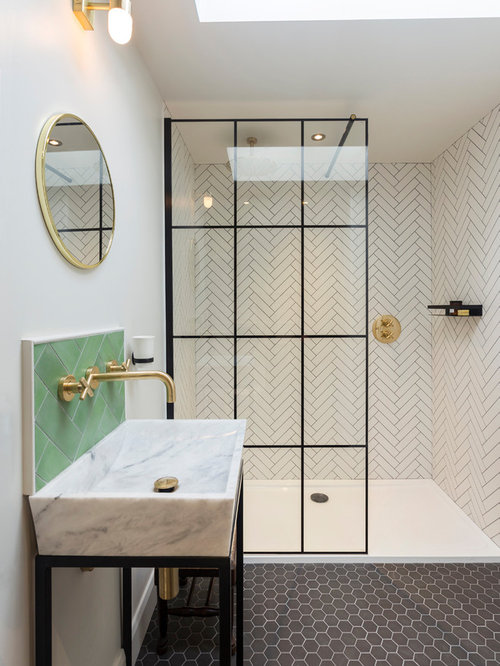 25 Best Eclectic Bathroom Ideas & Decoration Pictures | Houzz Soapstone Bathroom Designs Houzz on polished soapstone, dorado soapstone, mariana soapstone,