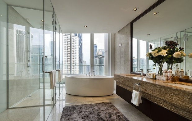 Contemporary Bathroom by Designed Design Associates (DDA)