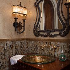 Mediterranean Bathroom by Perrone Construction