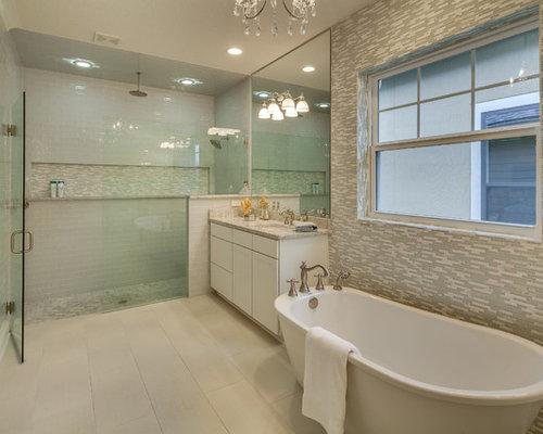 Shabby Chic Style Jacksonville Bathroom Design Ideas Remodels Photos