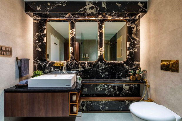 Contemporary Bathroom by deSigneR - Architects and Interior Designers