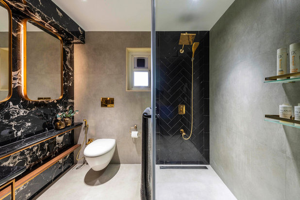 Modern Bathroom by deSigneR - Architects and Interior Designers