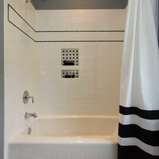 Traditional Bathroom by plantation building corp
