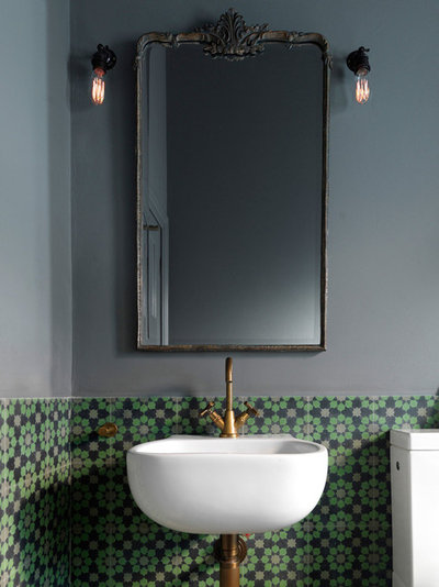 Eclectic Bathroom by Luigi Rosselli Architects