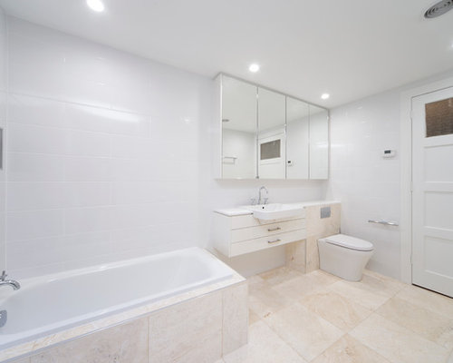 Unique Ensuite Bathroom In Canberra  Queanbeyan With Fresstanding Cabinets