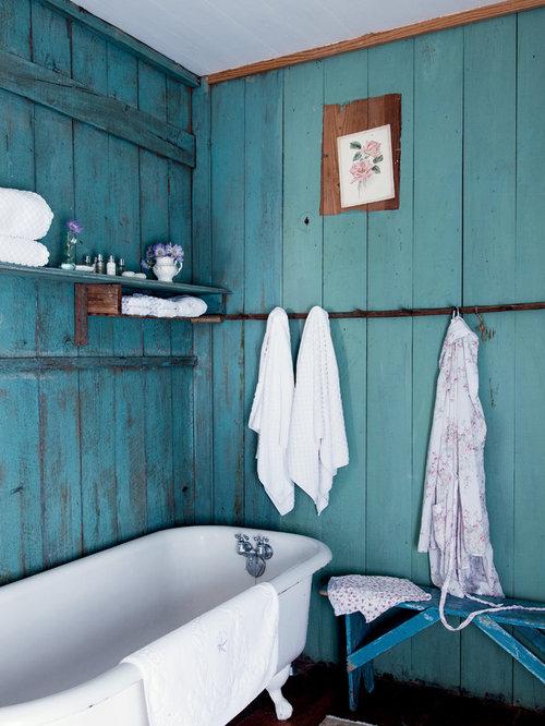 Shabby chic bath decor home design ideas pictures for Shabby chic bathroom decor your home