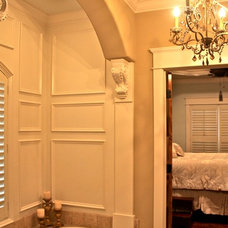 Traditional Bathroom by Jim Williams Construction Co Inc