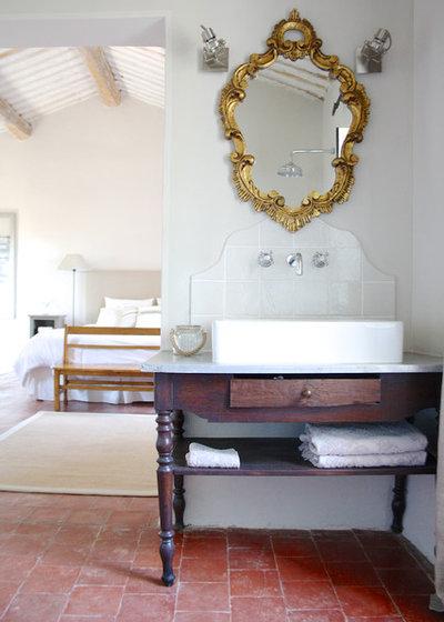 Traditional Bathroom by Holly Marder