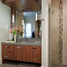 Modern Bathroom by Allard & Roberts Interior Design, Inc