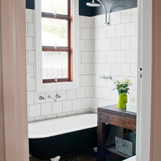Eclectic Bathroom by Etica Studio
