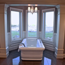 Contemporary Bathroom by Browning Homes, Inc.