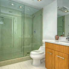 Contemporary Bathroom by Root Construction