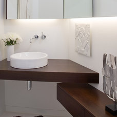 Modern Bathroom by Hufft Projects