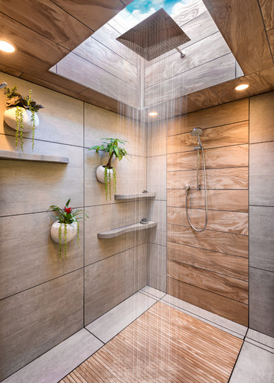 A Bali Inspired Bathroom Soothes With Spa Like Luxury