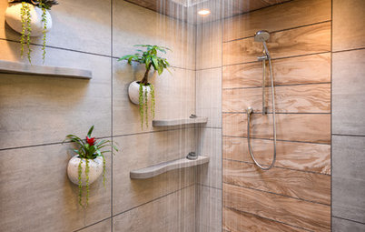 A Bali-Inspired Bathroom Soothes With Spa-Like Luxury