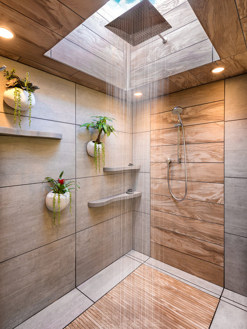 Best 30 modern bathroom ideas designs houzz for Modern ceramic tile