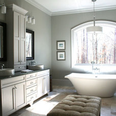 Contemporary Bathroom by Donald A. Gardner Architects