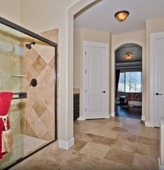 traditional bathroom by Coleman Homes