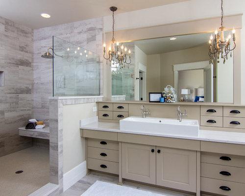 klassische badezimmer mit trogwaschbecken design ideen. Black Bedroom Furniture Sets. Home Design Ideas