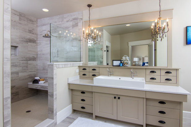 Transitional Bathroom by Aspen Homes