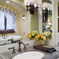 Traditional Bathroom by Alan Mascord Design Associates Inc