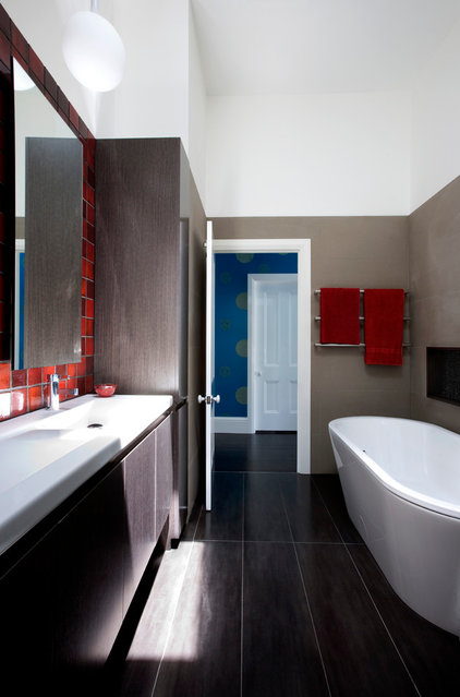 Contemporary Bathroom by Michelle Williams Photography