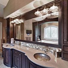 Traditional Bathroom by Todd Michael Builder Developer, Inc