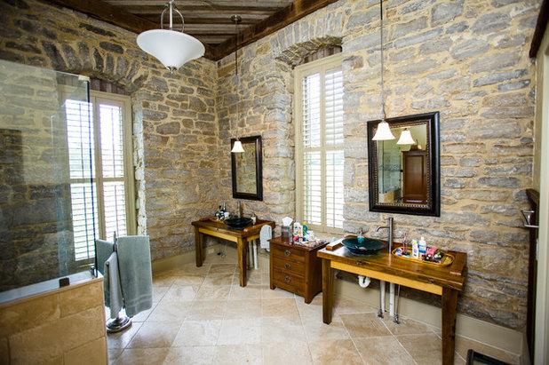 Fresh Rustic Bathroom by Wilmes u Associates Architects
