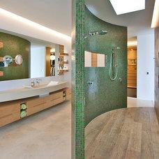 Contemporary Bathroom by Ultraspace by Mark Gacesa