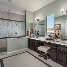 Contemporary Bathroom by Meritage Homes