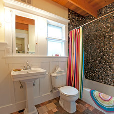 Eclectic Bathroom by Louise Lakier