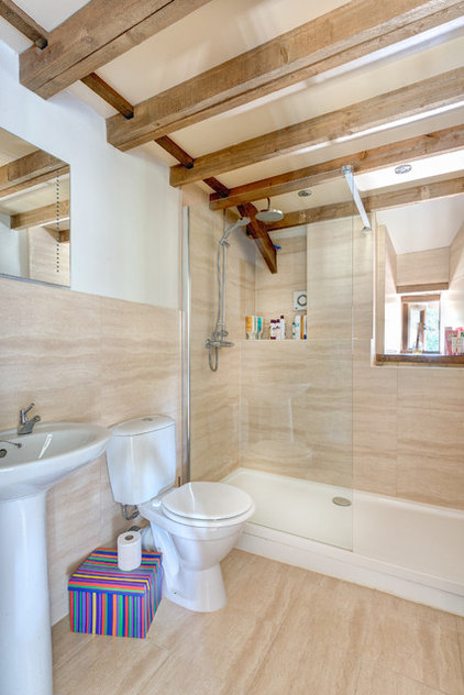 Farmhouse Bathroom by Colin Cadle Photography