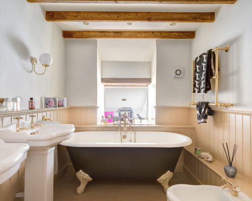 Roll Top Bath Home Design Ideas Pictures Remodel And Decor