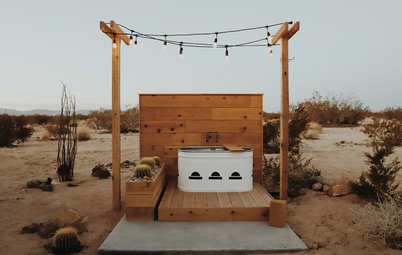 Visite Privée : Une tanière bohème en plein désert pour 7000 $