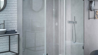 The Shower Lab Rhodium 45 Shower Enclosure