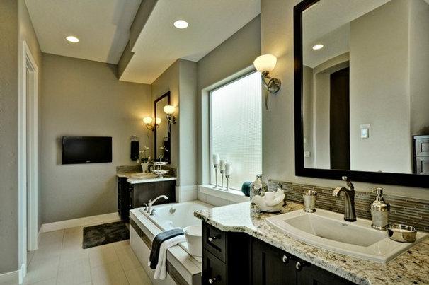 Traditional Bathroom by Boise Hunter Homes
