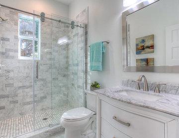 The Sundial | Main Floor Bathroom | New Home Builders in Tampa Florida