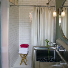 Industrial Bathroom by Brennan + Company Architects