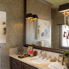 eclectic bathroom by Brian Dittmar Design, Inc.