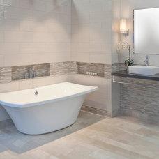 Contemporary Bathroom by The Tile Shop