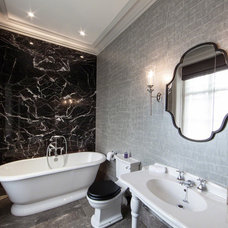 Contemporary Bathroom by The Design Practice by UBER