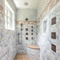 Traditional Bathroom by Mitch Wise Design,Inc.