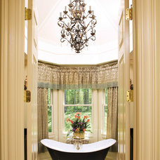 Traditional Bathroom by Donald A. Gardner Architects