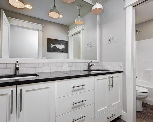 landhausstil badezimmer mit linoleumboden ideen. Black Bedroom Furniture Sets. Home Design Ideas