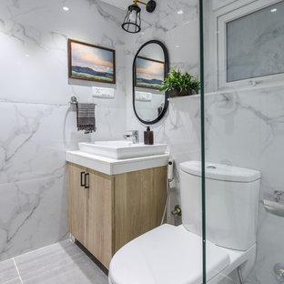 Salle de bain scandinave Inde : Photos et idées déco de salles de bain