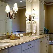 Traditional Bathroom by Kitchens Unlimited - Eileen Henry