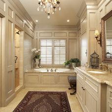 Traditional Bathroom by The Woodshop of Avon